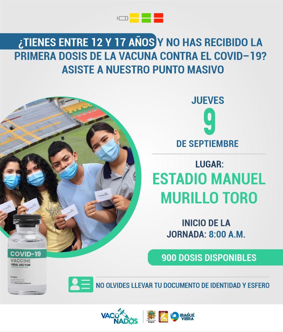 Conozca cómo será la jornada de vacunación este jueves y viernes en Ibagué 3