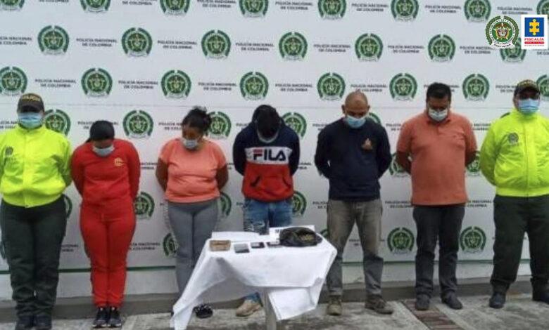 Capturan 17 personas en operativos de Policía entre Ibagué y Alvarado 1