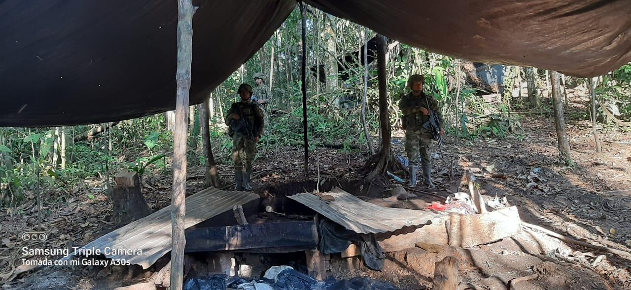 Así fue la destrucción de un laboratorio de coca en el Putumayo 7