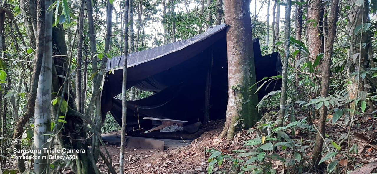 Así fue la destrucción de un laboratorio de coca en el Putumayo 6