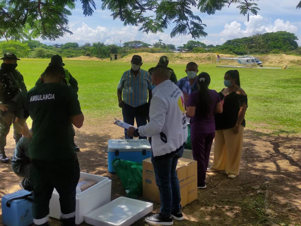 Más de 50.000 vacunas contra el COVID-19 se han trasladado a zonas apartadas del Tolima 2