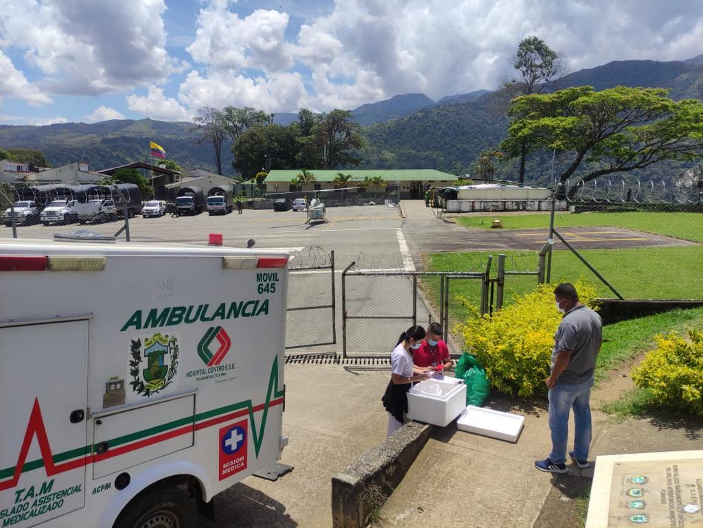 Más de 50.000 vacunas contra el COVID-19 se han trasladado a zonas apartadas del Tolima 3