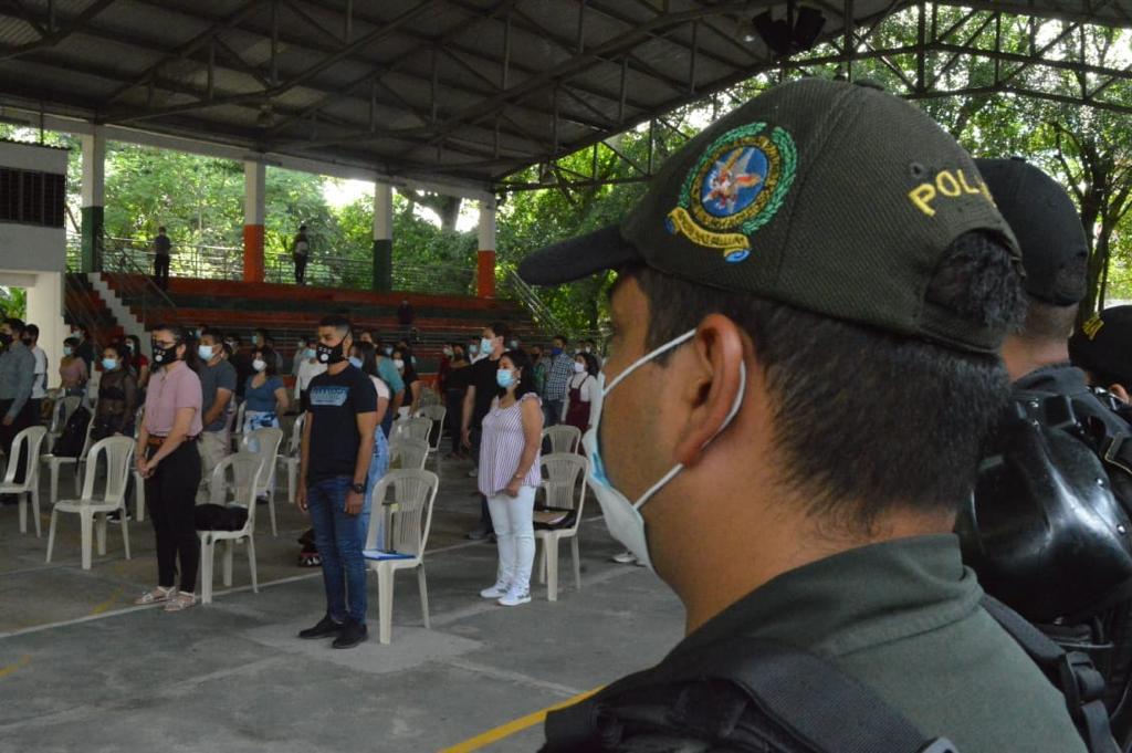 Inició proceso de inducción a 200 jóvenes becados para ser patrulleros 2