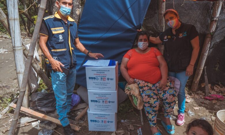 Más de 700 ayudas humanitarias han sido entregadas a familias damnificadas por emergencia en Ibagué 1