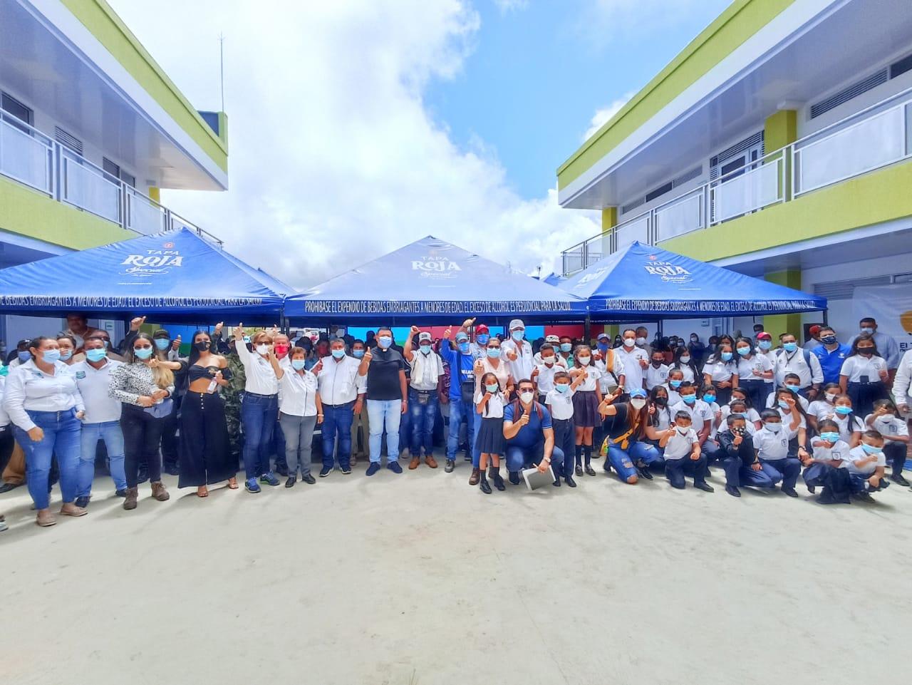 Alto del Cielo en Ortega ya tiene su megacolegio construido 2