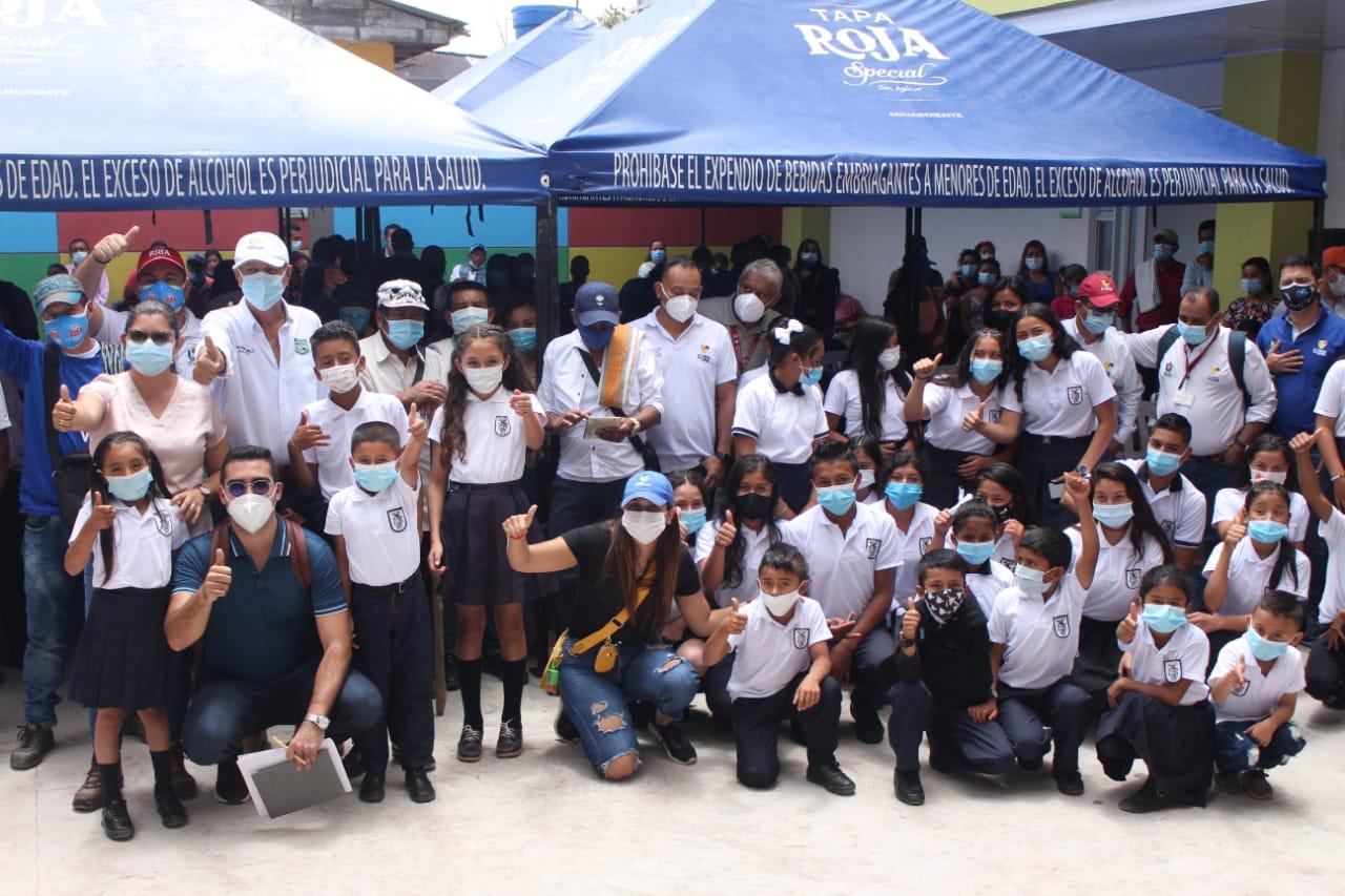 Alto del Cielo en Ortega ya tiene su megacolegio construido 4