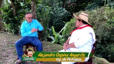 Alejandro Ospina Angarita, un hombre dedicado al sindicalismo y a su actividad de pastor en una iglesia cristiana. 18