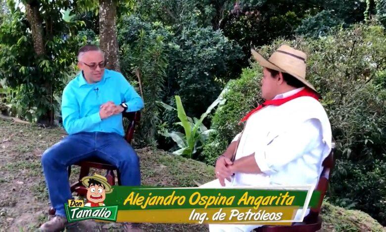 Alejandro Ospina Angarita, un hombre dedicado al sindicalismo y a su actividad de pastor en una iglesia cristiana. 1