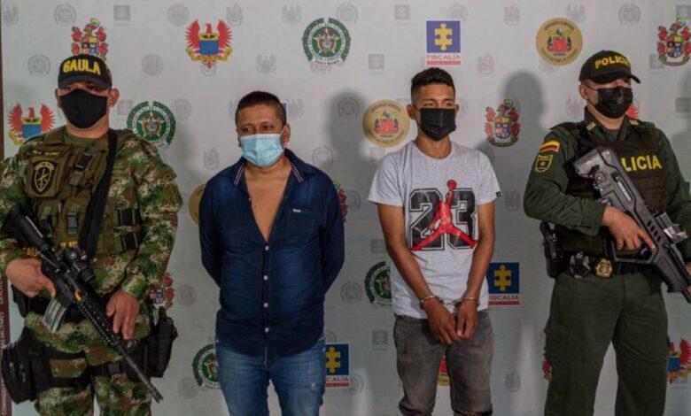 Capturados alias 'Bolas' y 'Mono' en el Huila 1
