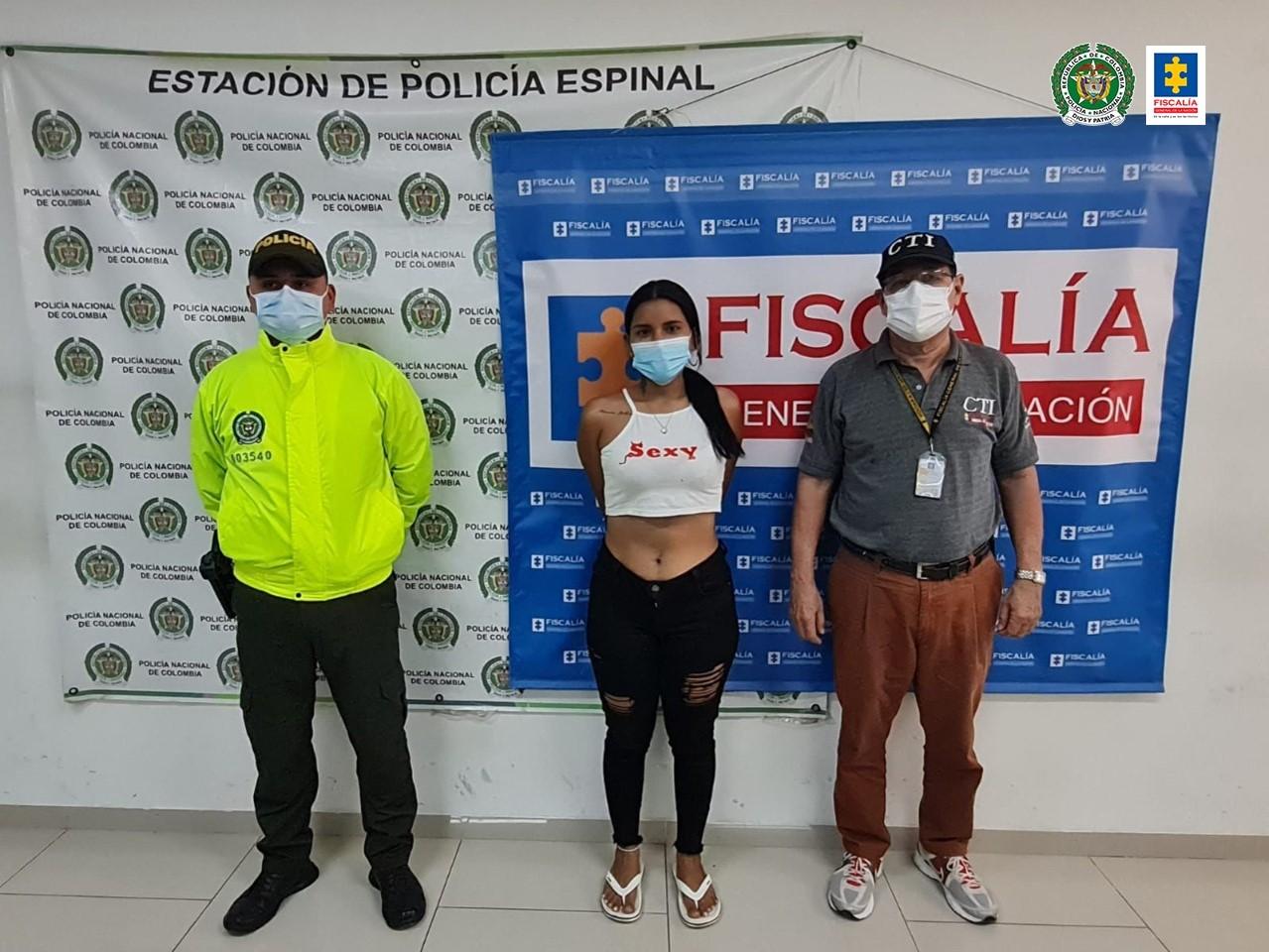 Asegurada una pareja por su presunta participación en varios hurtos en El Espinal (Tolima) 4