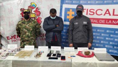 Capturan miembros de organizaciones delincuenciales que apoyaban disidencias de las Farc 9