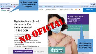 ¡Venga le cuento¡ El certificado digital de vacunación es gratuito 10