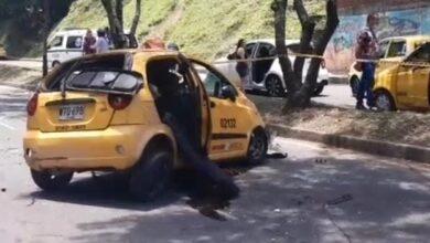 Accidente de taxi en la Guabinal cobra su segunda víctima 9