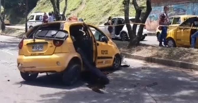 Murió una de las víctimas del accidente del taxi en la Guabinal 6