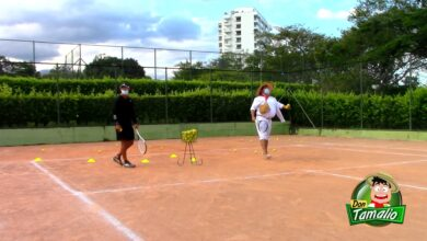 Aprendiendo a Jugar Tenis de Campo, con la liga del Tolima 17