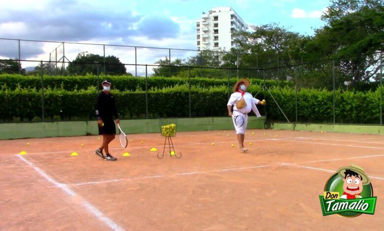Aprendiendo a Jugar Tenis de Campo, con la liga del Tolima 1
