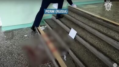 Estudiante entro disparando a una facultad de Moscú y provoco la muerte a seis compañeros en la universidad. 2
