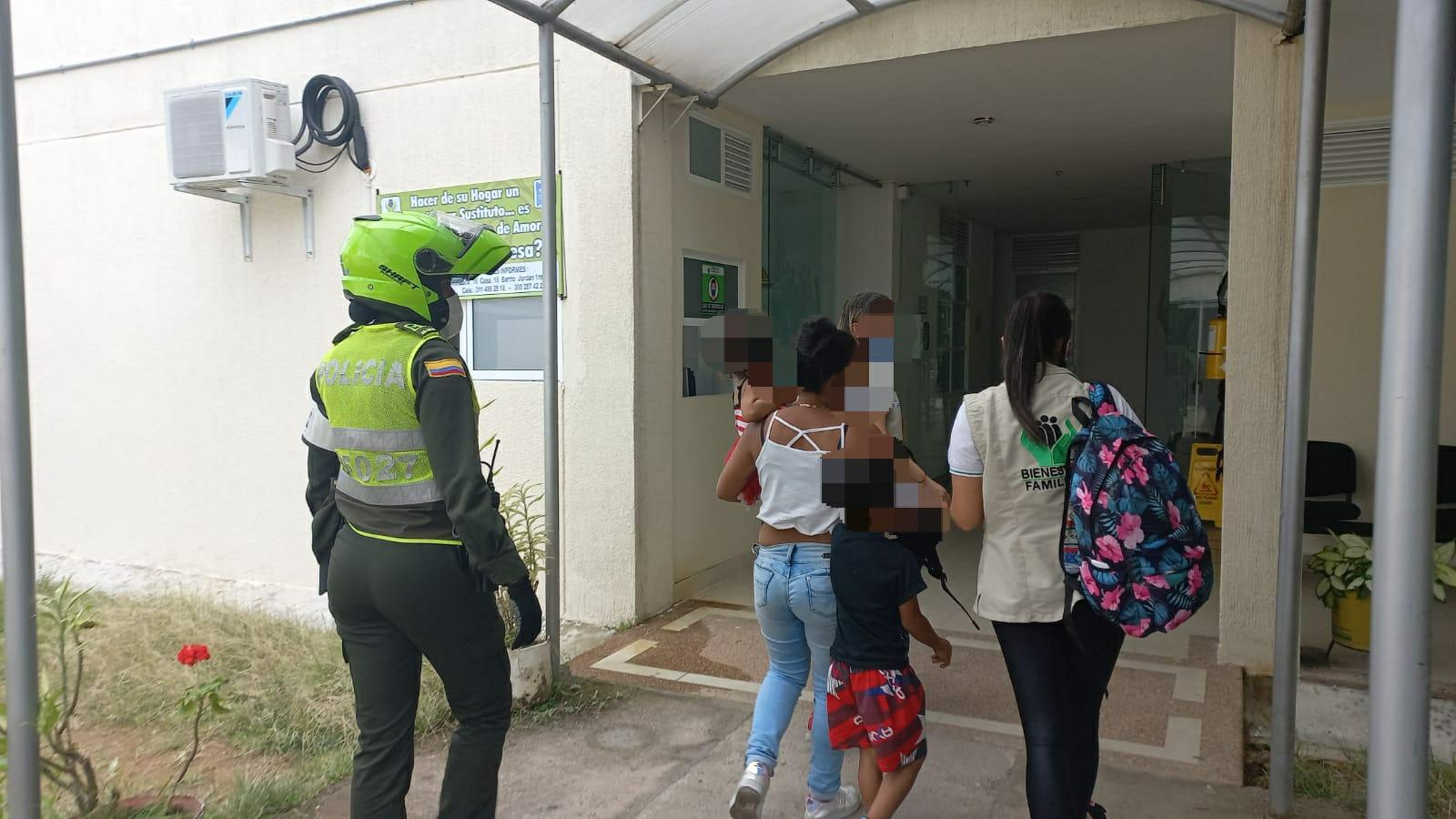 Más de 10 menores fueron sorprendidos ejerciendo el trabajo infantil y mendicidad 4