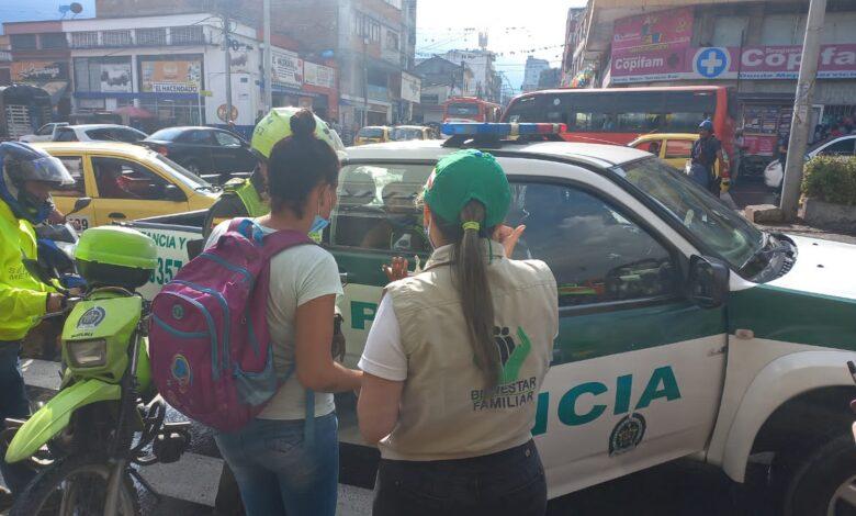 Más de 10 menores fueron sorprendidos ejerciendo el trabajo infantil y mendicidad 1