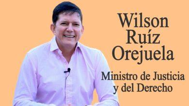 Entrevista con el Ministro de Justicia, Wilson Ruiz 11