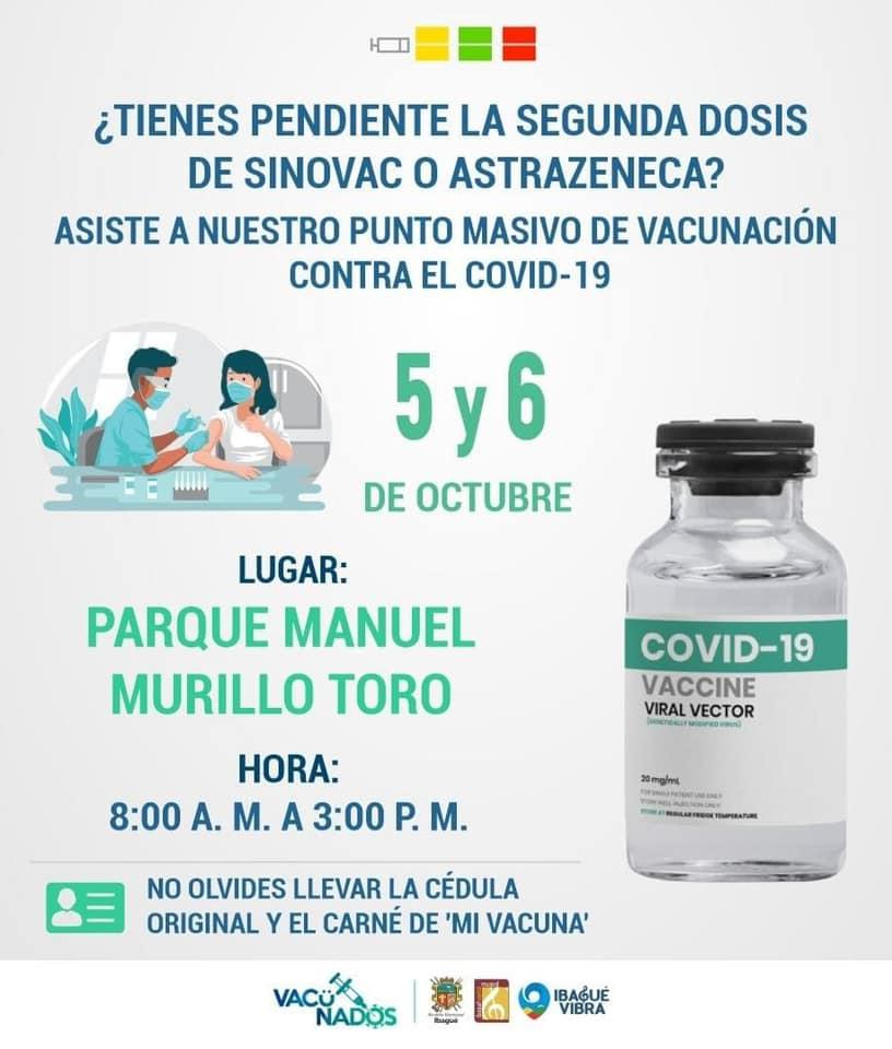 Jornada de vacunación Ibagué