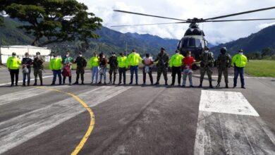 7 integrantes de disidencias fueron capturados en el sur del Tolima 4