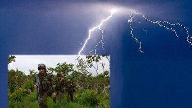 Cinco soldados heridos tras caerles un rayo en Cajibío Cauca 3